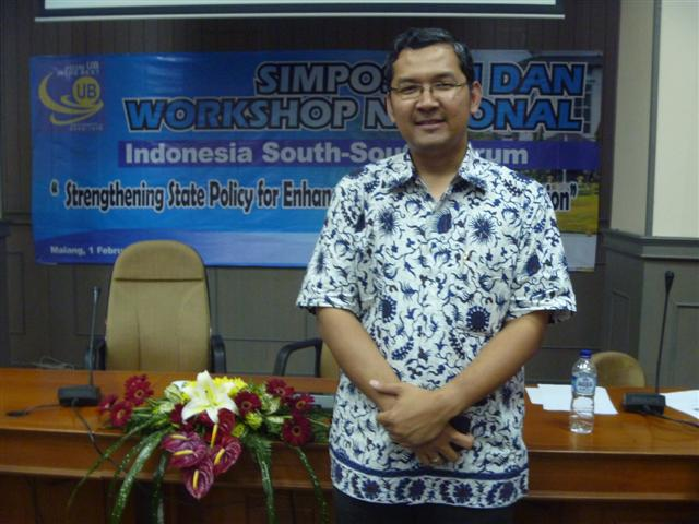 Pembicara South-South Cooperation @Unbraw 010212